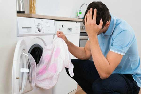 تمیز نشدن لباس در ماشین لباسشویی ال جی