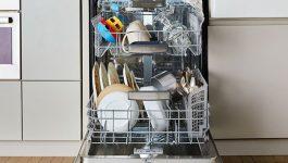 روش های رفع بوی بد ماشین ظرفشویی