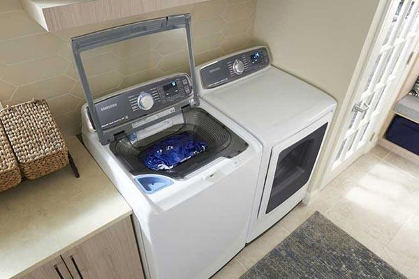 انواع ماشین لباسشویی، ماشین لباسشویی درب از بالا