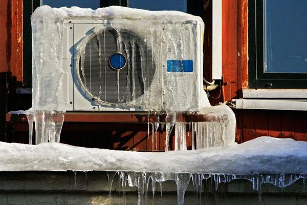 یخ زدن تاسیسات کولر گازی دلیل سر نبودن باد کولر گازی