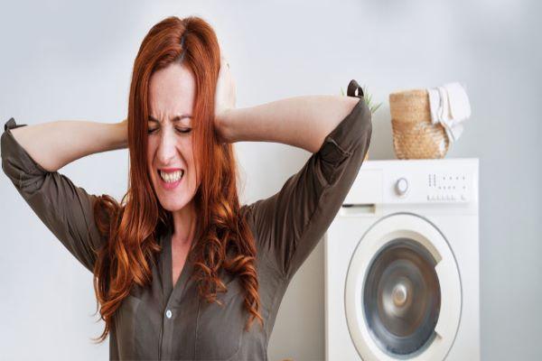 علت صدای اضافی ماشین لباسشویی