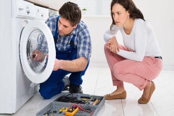 تعمیر صدای مزاحم ماشین لباسشویی