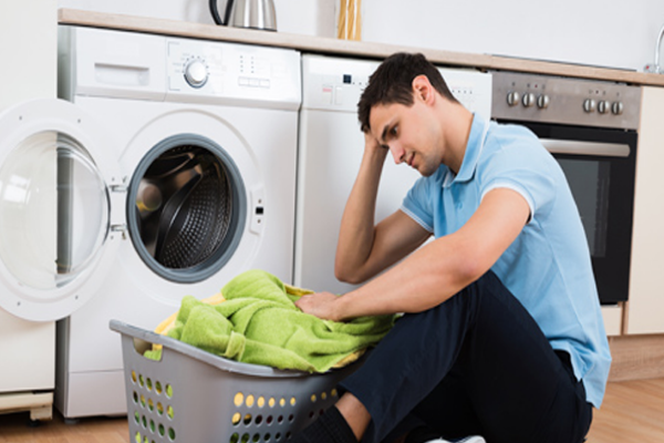 علت صدای تق تق ماشین لباسشویی